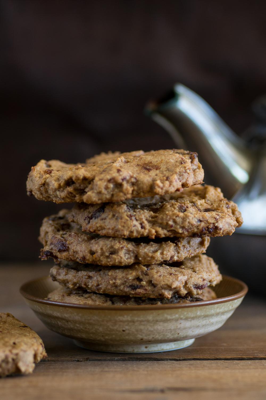 Tahini Date Orange Cookies Oil-free by An Unrefined Vegan