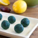 Raw Lemon-Coconut Spirulina Balls An Unrefined Vegan
