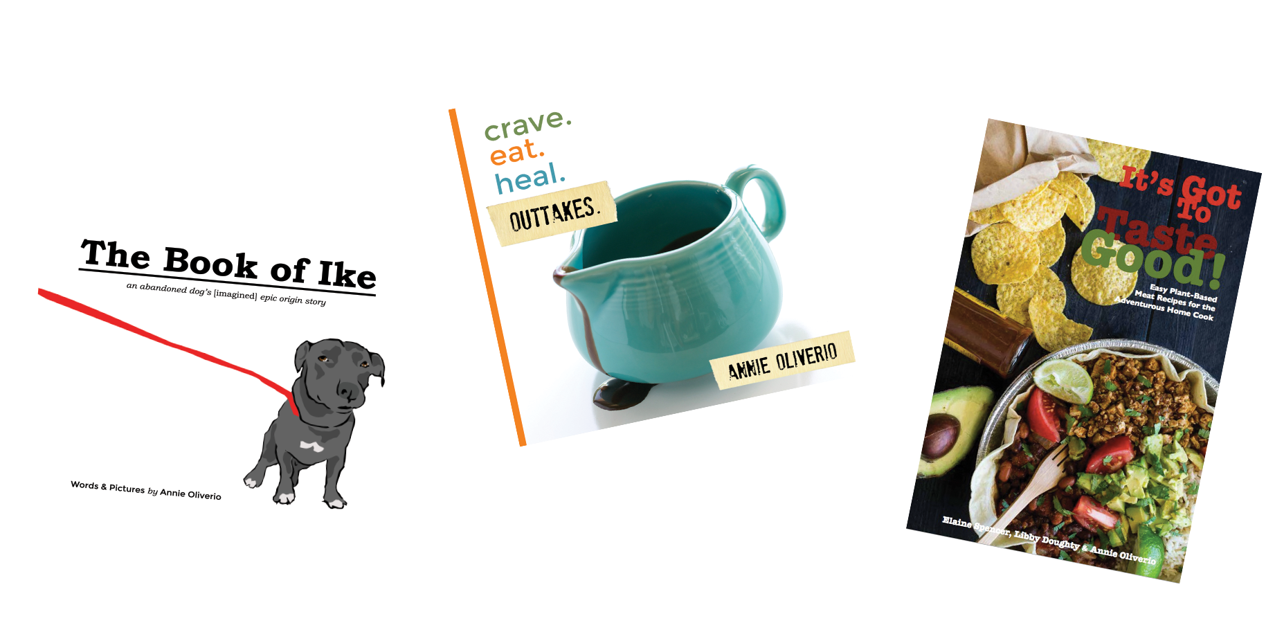Three Book Giveaway on An Unrefined Vegan