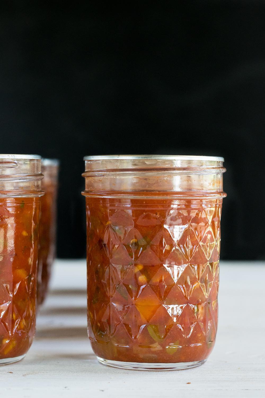 An Unrefined Vegan Adventures in Canning: Homemade Salsa