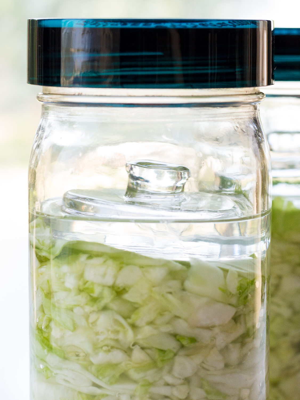 Making Sauerkraut Day 1 by An Unrefined Vegan