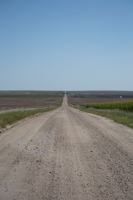 Kansas Road by An Unrefined Vegan