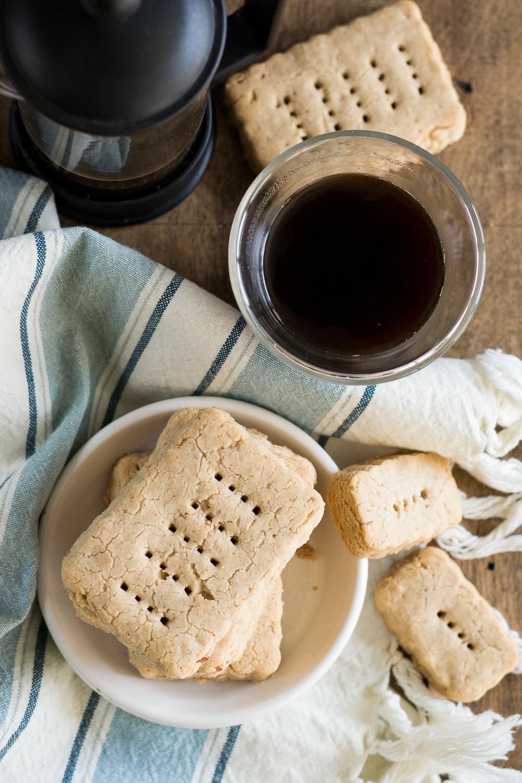 Gluten-free Almond-Vanilla Shortbread by Unrefined Vegan