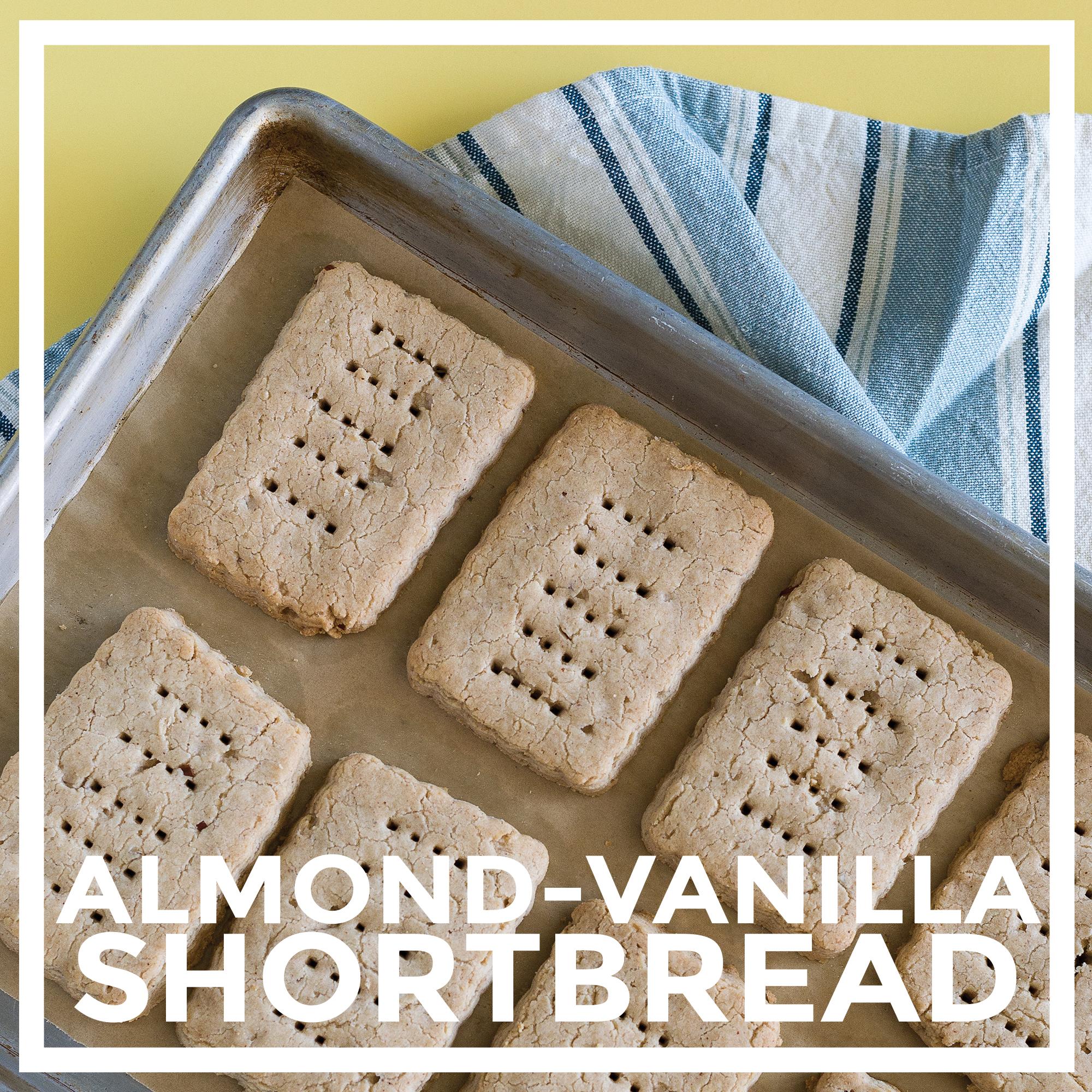 Almond-Vanilla Shortbread by Unrefined Vegan
