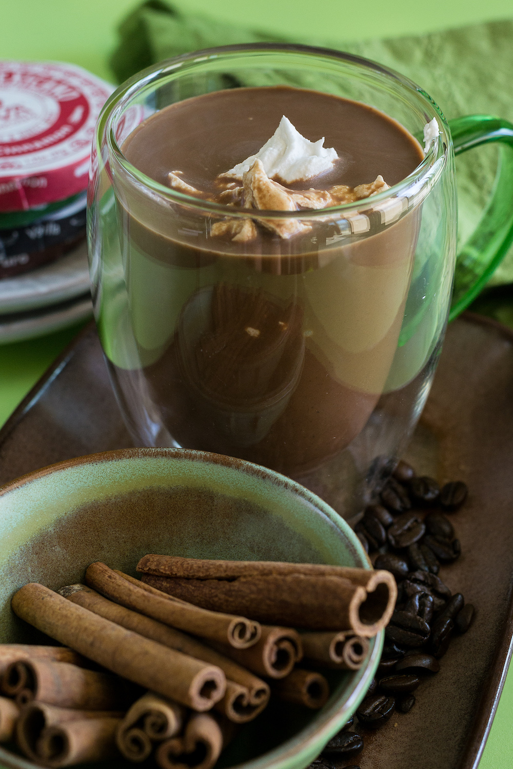Dairy-free Grizzly Bear Hot Chocolate by Unrefined Vegan