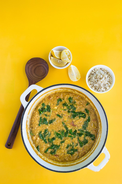 Oil-free Red Lentil Soup by Unrefined Vegan