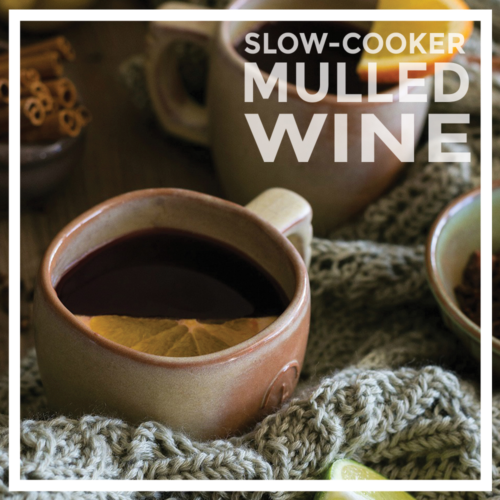 Slow Cooker Mulled Wine by Unrefined Vegan