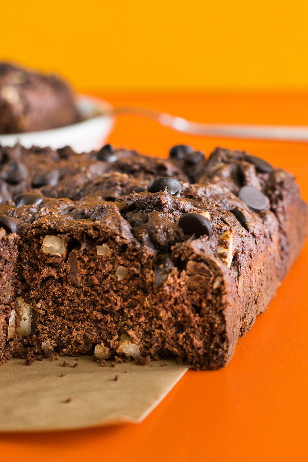 Double Chocolate Snack Cake, Oil-free, by Unrefined Vegan