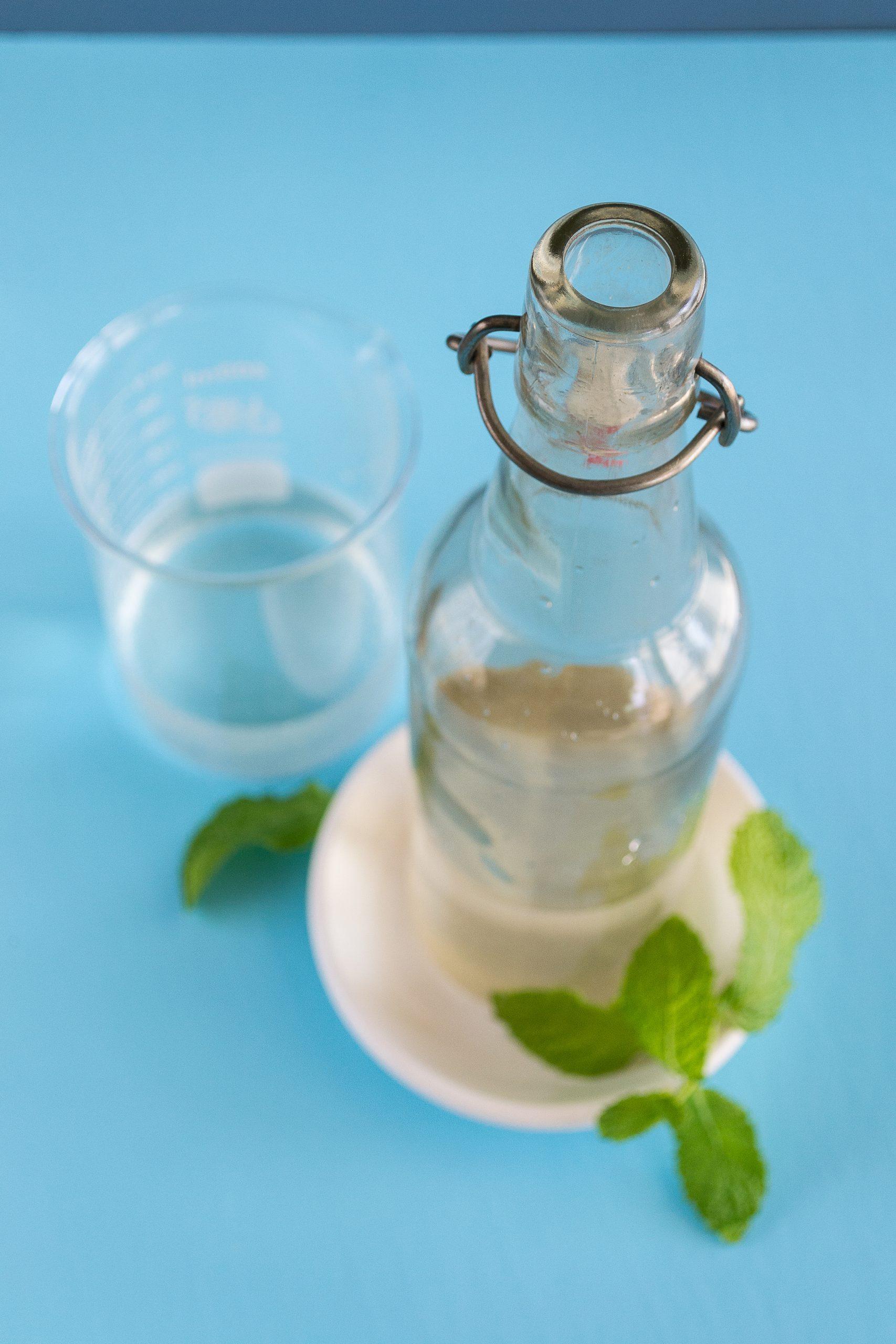 Alcohol-free, Sugar-free Minty Mouthwash by Unrefined Vegan