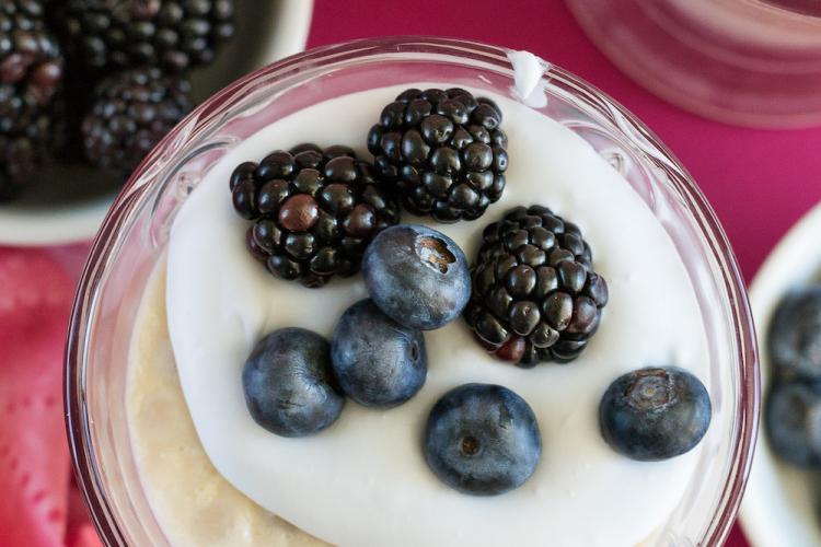 Classic Tapioca Pudding. Vegan, Oil-free, Zero Calorie Sugar.