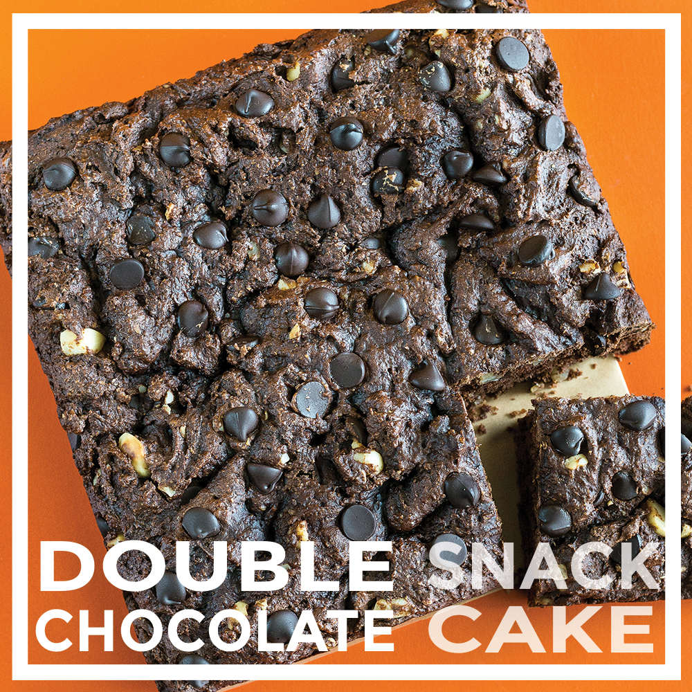 Double Chocolate Snack Cake Oil-free by Unrefined Vegan