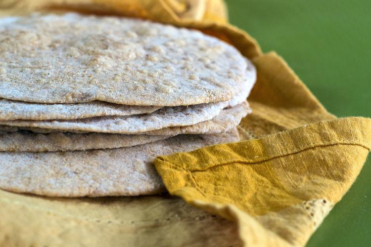 Whole Wheat Chipotle Tortillas