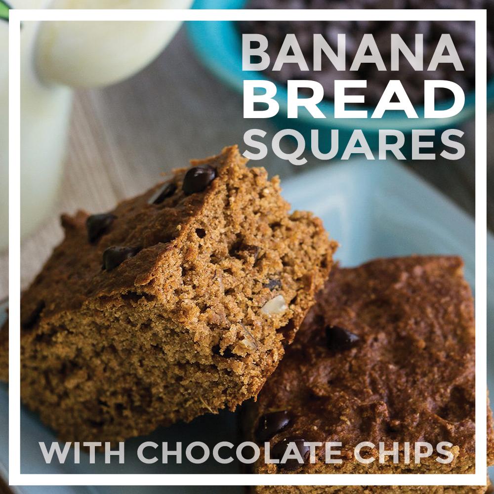 Chocolate Chip Banana Bread by Unrefined Vegan